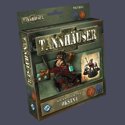 Tannhauser: Oksana Single Figure Pack by Fantasy Flight Games