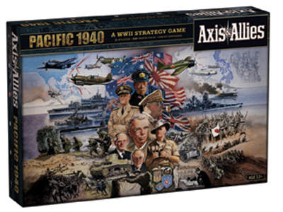 Axis & Allies Pacific 1940 by Wizards of the Coast