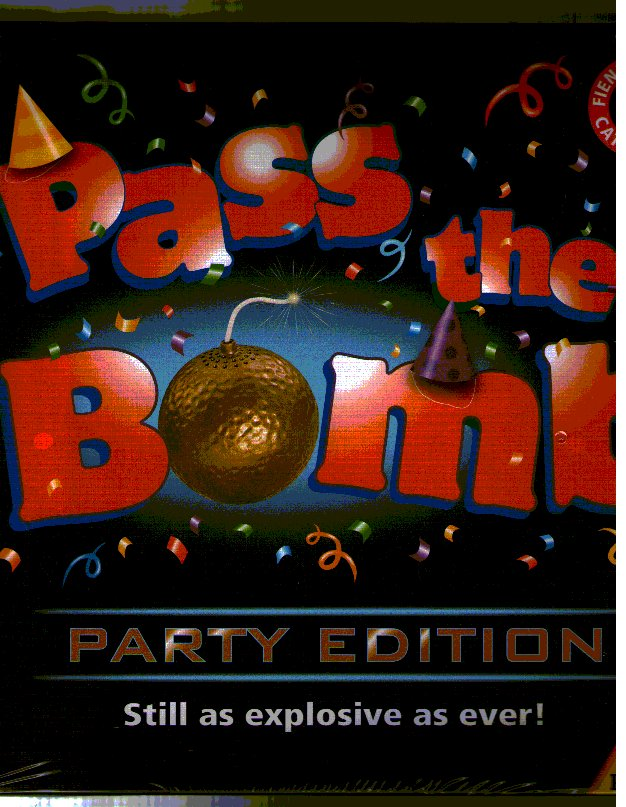 Pass the Bomb Party Edition by Piatnik