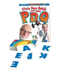 PDQ: The Pretty Darn Quick Word Game by Gamewright