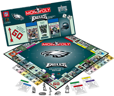 Philadelphia Eagles Monopoly Collector's Edition by Usaopoly