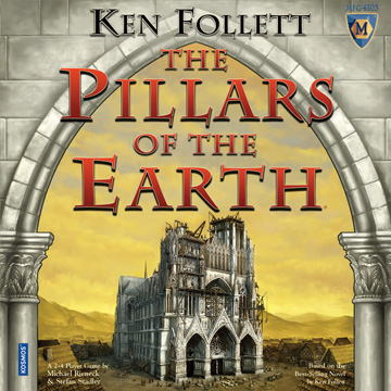Pillars Of The Earth by Mayfair Games / Kosmos