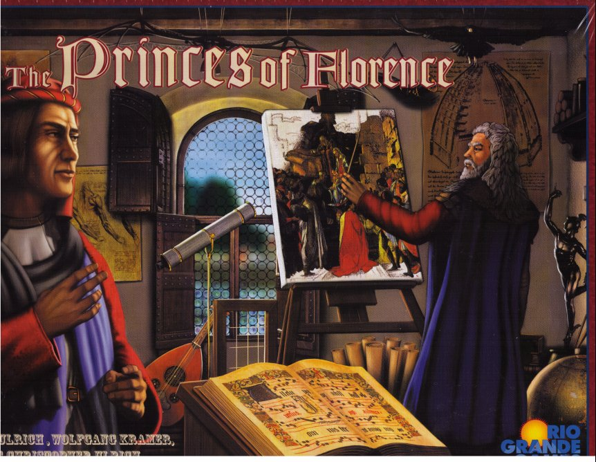 Princes of Florence by Rio Grande Games