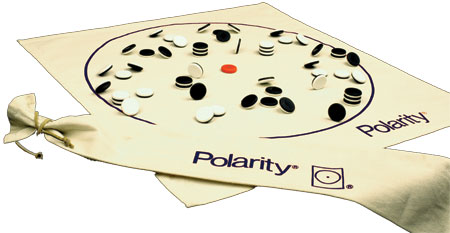 Polarity (khaki bag version) by Temple Games, Inc.