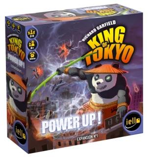 King of Tokyo - Power Up! expansion by Iello Games
