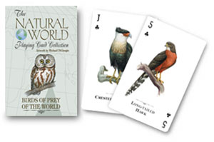 Birds of Prey of the World Playing Cards by US Games Systems, Inc