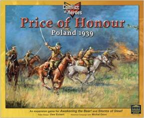 Conflict of Heroes: Price of Honor - Poland 1939 by Academy Games