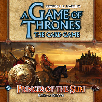 A Game Of Thrones LCG: Princes Of The Sun Expansion by Fantasy Flight Games