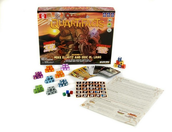 Quarriors! Quartifacts Expansion by WizKids/NECA