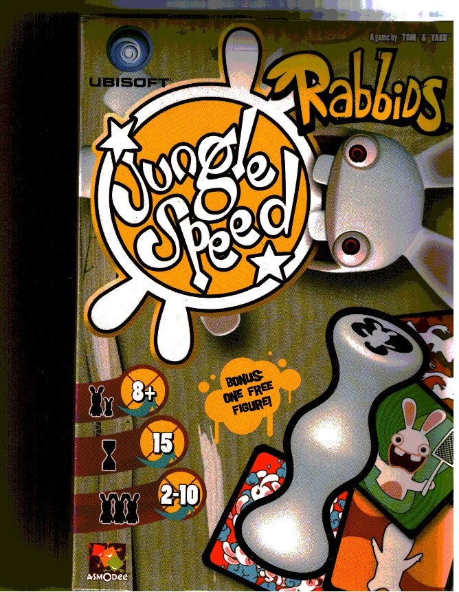 Jungle Speed: Rabbids by Asmodee Editions