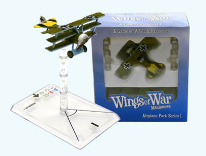 Wings of War miniatures : Fokker DR I Arthur Rahn (Germany) by Fantasy Flight Games