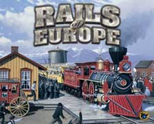 Rails of Europe by Fred Distribution