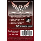 Premium Mini Chimera Game Sleeves - clear - 43 X 65 MM (50 Pack) by Mayday Games