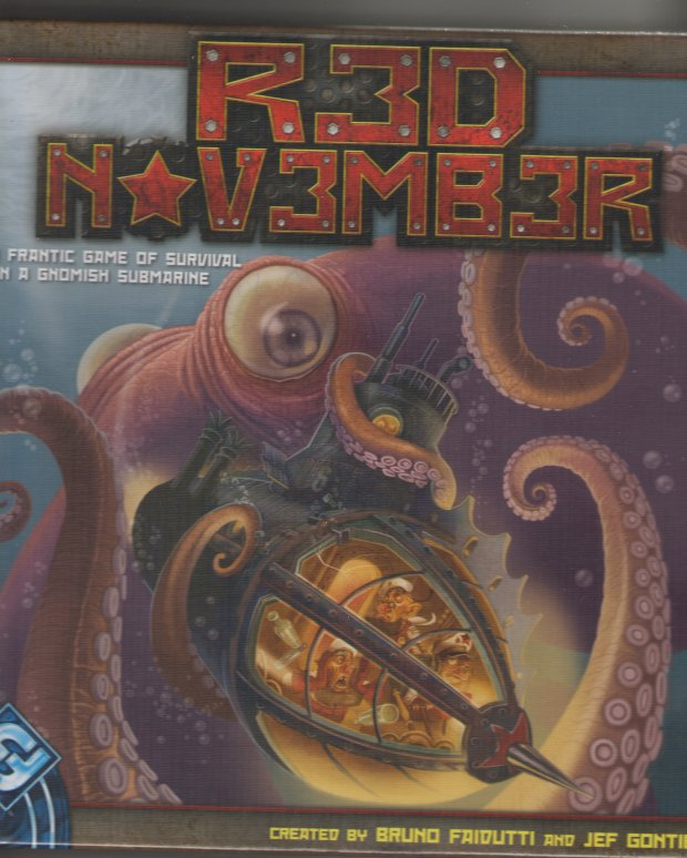 Red November Revised Edition by Fantasy Flight Games