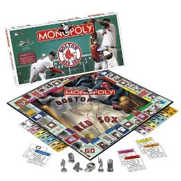 Boston Red Sox Collector's Edition Monopoly Board Game by USAopoly