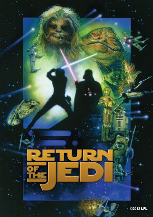 Star Wars Return of the Jedi Art Sleeves (50) by Fantasy Flight Games