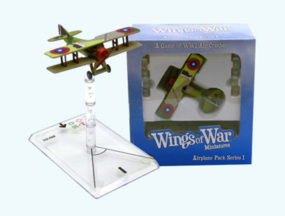 Wings Of War miniatures : Spad XIII Eddie Rickenbacker (United States) by Fantasy Flight Games