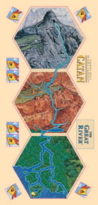 Settlers of Catan Board Game : The Great Rivers of Catan Expansion by Mayfair Games