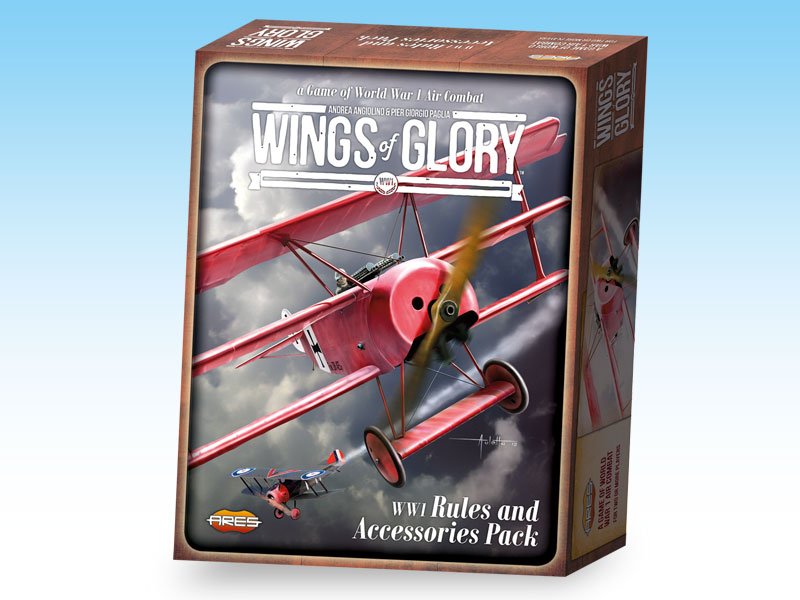 Wings of Glory: WW1 Rules and Accessories Pack by Ares Games