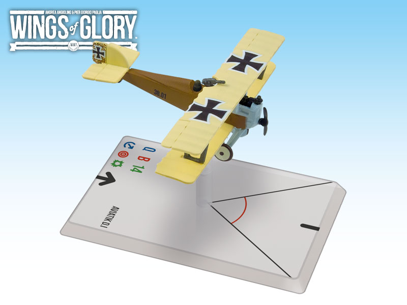 Wings of Glory WWI : Aviatik D.I (Sabeditsch) by Ares Games Srl
