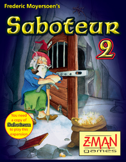 Saboteur 2 by Z-Man Games, Inc.