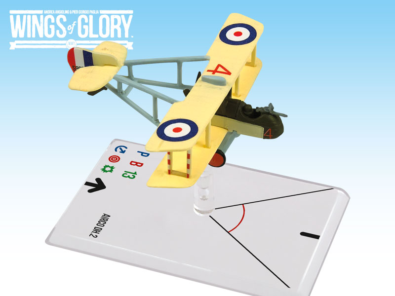 Wings of Glory WWI : Airco DH.2 (Saundby) by Ares Games Srl