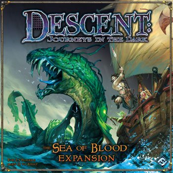 Descent: The Sea Of Blood Expansion by Fantasy Flight Games