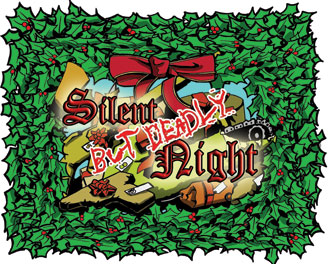 Silent But Deadly Night B-movie Card Game by Z-Man Games, Inc.
