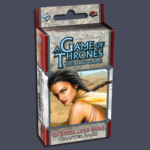A Game Of Thrones LCG: Of Snakes and Sand Chapter Pack by Fantasy Flight Games