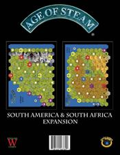 Age of Steam: South America / South Africa Expansion by FRED Distribution