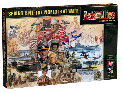 Axis & Allies 1941 by Wizards of the Coast