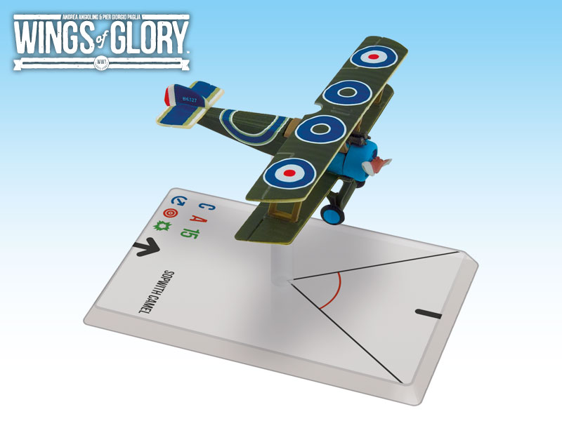 Wings of Glory: WWI: Sopwith Camel (Stackard) by Ares Games