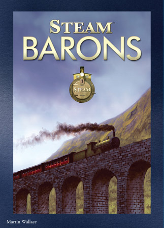 Steam: Steam Barons Expansion by Mayfair Games