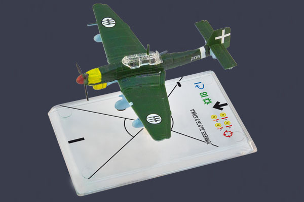 Wings of War: Junkers Ju 87r-2 Stuka - Sugaroni by Fantasy Flight Games