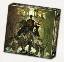 Tannhauser Board Game (includes revised rules) by Fantasy Flight Games