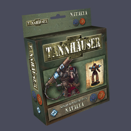 Tannhauser: Natalya by Fantasy Flight Games