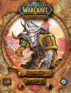 World Of Warcraft: The Adventure Game - Thundershot Character Pack by Fantasy Flight Games