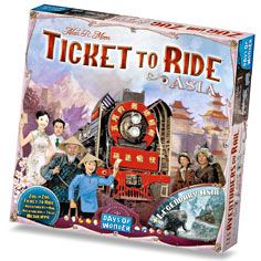 Ticket to Ride Map Collection Volume 1 :  Asia by Days of Wonder, Inc.