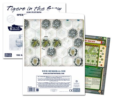 Memoir '44: Battle Map - Tigers In The Snow/operation Market Garden by Days of Wonder, Inc.