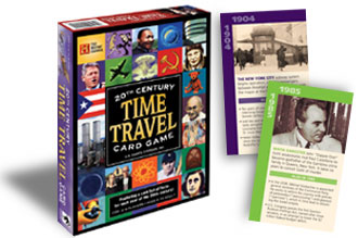 20th Century Time Travel Card Game by US Games Systems, Inc