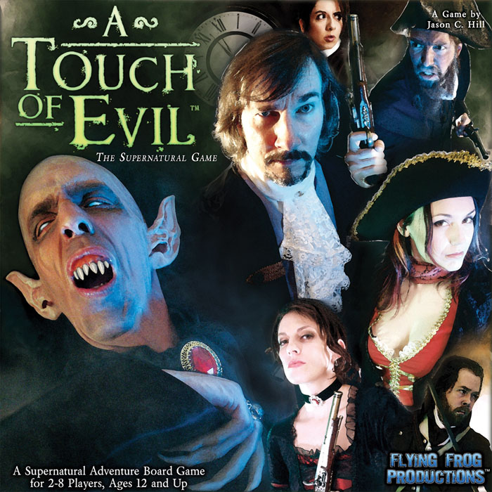 A Touch Of Evil: The Supernatural Game by Flying Frog Productions, LLC