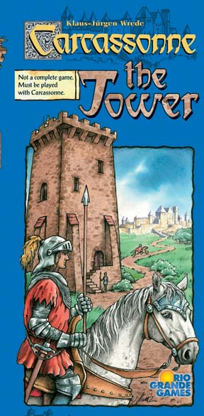 Carcassonne: The Tower Expansion by Rio Grande Games / Hans im Glück