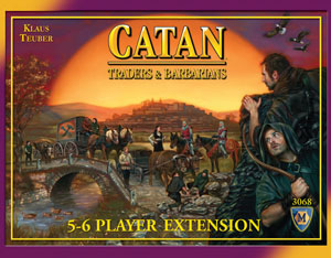 Settlers of Catan Board Game : Traders & Barbarians 5-6 player extension by Mayfair Games
