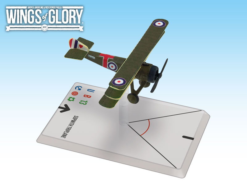 Wings of Glory WWI : Sopwith Triplane (Little) by Ares Games Srl
