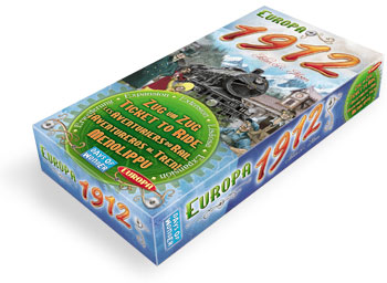 Ticket to Ride: Europa 1912 Expansion by Days of Wonder, Inc.