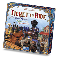 Ticket To Ride Card Game by Days of Wonder, Inc