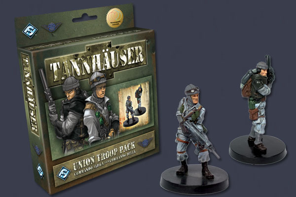Tannhauser: Union Troop Pack by Fantasy Flight Games