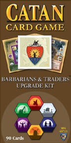Settlers of Catan Card Game - Barbarians & Traders Upgrade Kit by Mayfair Games
