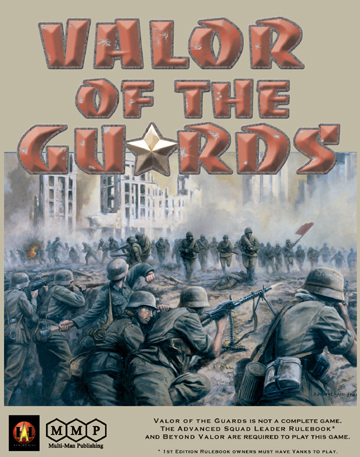 ASL Valor of the Guards by Multi-Man Publishing