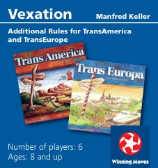 Vexation: TransAmerica/TransEuropa Expansion by Rio Grande Games